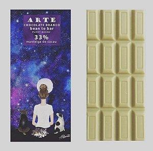 Chocolate branco 75g - Arte Chocolate