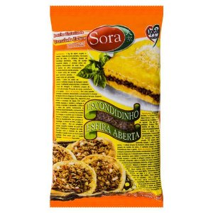 Proteína de soja granulada escura 400g - Sora