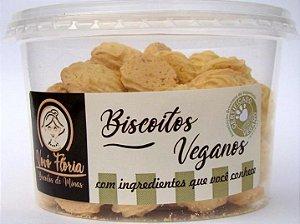 Biscoito vegano sabor abacaxi com coco 250g - Vovó Flória