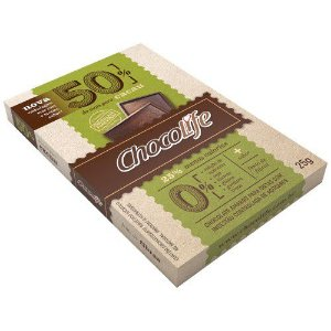 Tablete 50% Cacau 25g - Chocolife