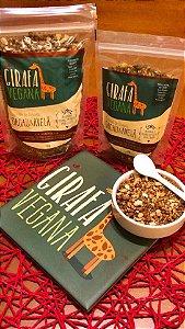 Crumble De Granola Cacau E Avelã 75g - Girafa Vegana