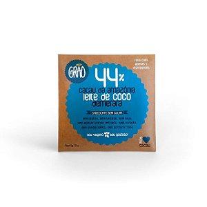 Tablete 44% Cacau Com Leite De Coco E Demerara 25g - Grão
