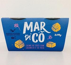 Creme De Coco De Caramelo Com Sal Rosa 180g - Mardicô