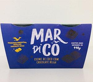 Creme De Coco De Chocolate Belga 220g - Mardicô
