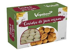 Coxinha De Jaca Vegana 400g - Vegabom