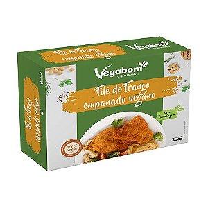 Filé De Frango Empanado Vegano 300g - Vegabom