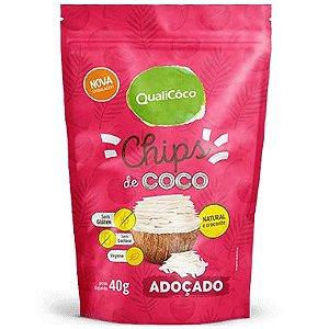 Coco Chips Adoçado 40g - Qualicoco