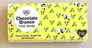Chocolate Branco com chá verde 50g - chocovegan