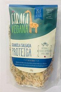 Granola proteia 180g - girafa vegana