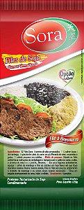 Filé de Soja Sabor Carne Vermelha 125g - Sora