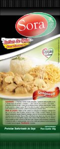 Fatia Vegetal Sabor Carne Branca 125g - Sora