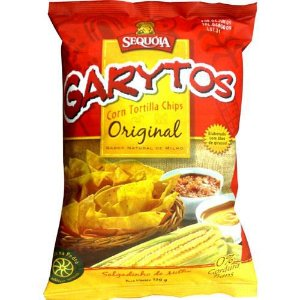 Garytos Tortilla Chips120g - Sequóia
