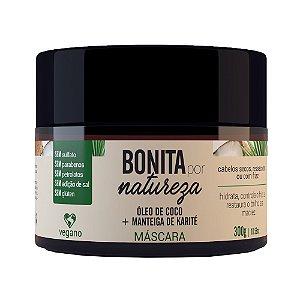 Máscara de óleo de coco e manteiga de karité - Bonita por Natureza