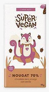 Chocolate 70% linha nuts 95g - Super Vegan