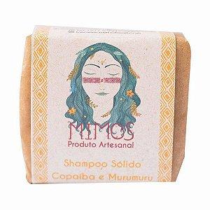 Shampoo Sólido de Copaiba e Murumuru 100g - Mimos Naturais