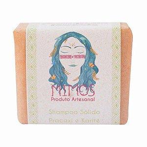 Shampoo Sólido de Pracaxi e Karité 100g - Mimos Naturais