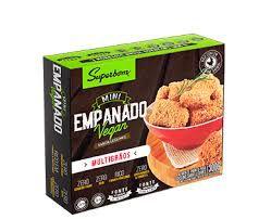 Mini empanado sabor legumes 300g - Superbom