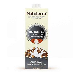 Café Gelado com Bebida de Amêndoas Não Adoçado 1L - NATUTERRA