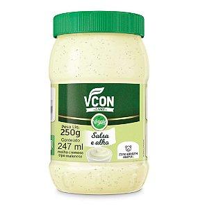 Maionese sabor salsa e alho 250g - VCON