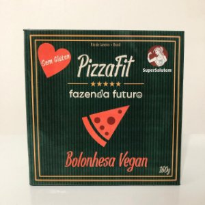 PizzaFit Bolonhesa Vegan 160g - SuperSalutem
