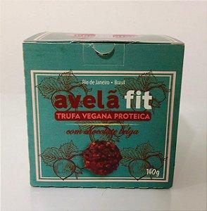Trufa Proteica de Avelã com Chocolate Belga 140g - SuperSaluten