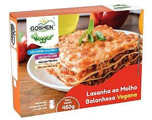 Lasanha Vegana ao Molho Bolonhesa 450g - Goshen