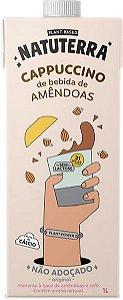 Cappuccino de Bebida de Amêndoas Não Adoçado 1L - NATUTERRA