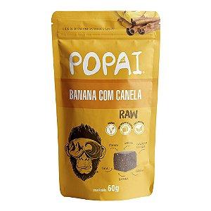 Snack de Banana com Canela Raw - Popai