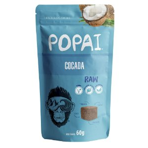 Snack de cocada Raw - Popai