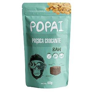 Snack de paçoca crocante Raw - Popai