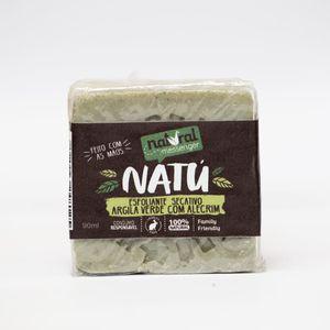 Sabonete Esfoliante Facial - Argila Verde com Alecrim