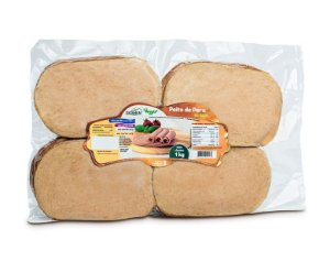 Peito de Peru Fatiado 1kg - Goshen