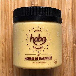 Sorvete de Mousse de Maracujá 500ml - Hoba