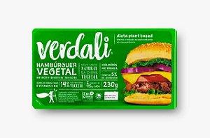 Hambúrguer Vegetal 230g - Verdali