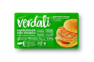 Hambúrguer Sem-Frango 230g - Verdali