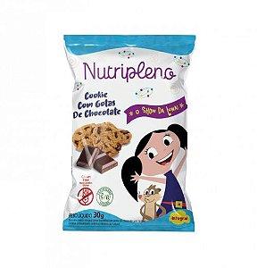 Cookie com gotas de chocolate show da luna 30g - Nutripleno