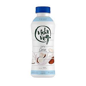Iogurte de Coco Zero Açúcar 500g - Vida Veg
