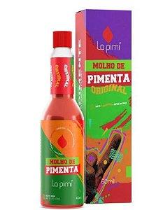 Molho de pimenta original 60mL - La Pimi