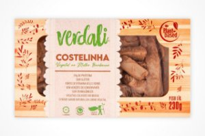 Costelinha vegetal em cubos ao barbecue 230g - Verdali