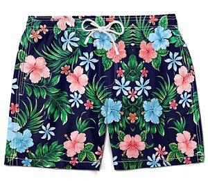 Short Praia bermuda masculino ney florido moda verão summer