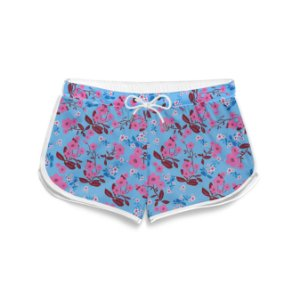 Short Feminino Summer Little Flowers
