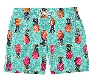Short Praia Verão Pineapple