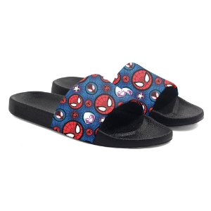 Chinelos slide benassi unissex Spider Man