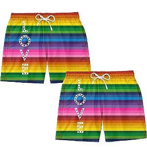 Kit Casal Masculino LGBT Love