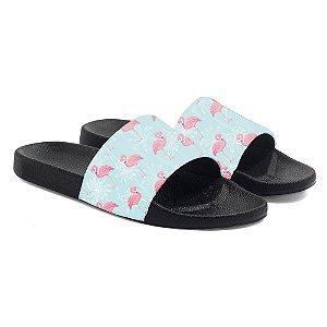Chinelos Slide Benassi Unissex Flamingos