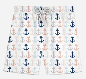 Short Praia Infantil Anchor