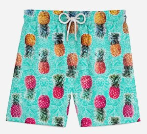 Short Praia Infantil Pineapple Color