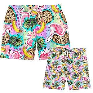 Kit Tal Pai Tal Filho Tropical Fruits