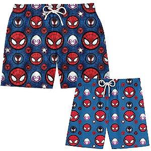 Kit Tal Pai Tal Filho Spider Man