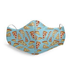 Mascara Proteção Facial Pizza
